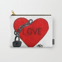 Love on Lockdown Carry-All Pouch