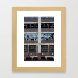 Broken Industry Framed Art Print