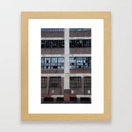 Broken Industry Framed Art Print