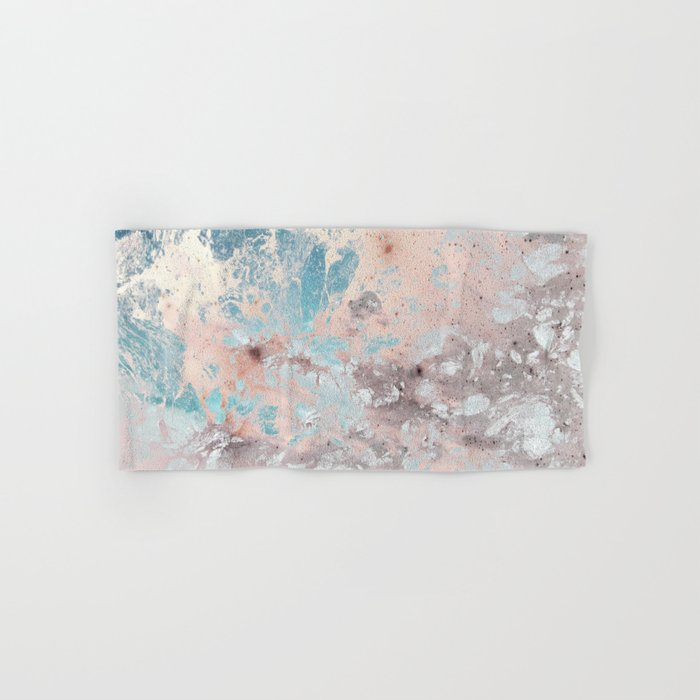 Pastel marble texture Hand & Bath Towel