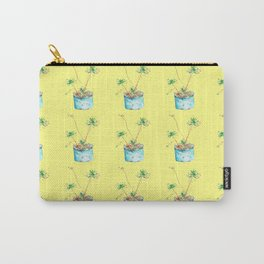 African Flowers Carry-All Pouch
