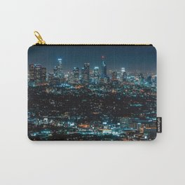 Los Angeles Skyline By Night United States Ultra HD Carry-All Pouch