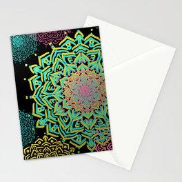 Boho Medallions Stationery Cards