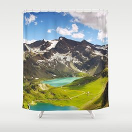 Gran Paradiso National Park Parco Del Gran Paradiso Italy Ultra HD Shower Curtain