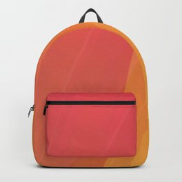 Red and orange lines Backpack
