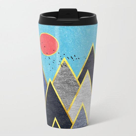 Golden Peaks Metal Travel Mug