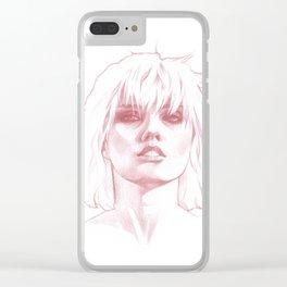 Debbie Harry Blondie Clear iPhone Case