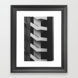 Emergency Escape Framed Art Print