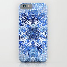 Sapphire Crochet Mandala iPhone 6s Slim Case