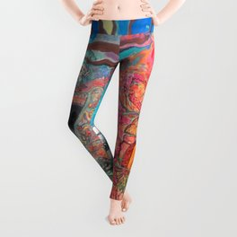 Akashic Library Leggings