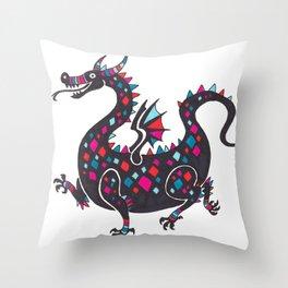 Cute Dragons Throw Pillow