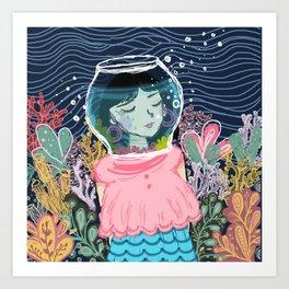 Breathless Art Print