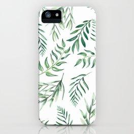 Floating Leaves #society6 #buyart iPhone Case