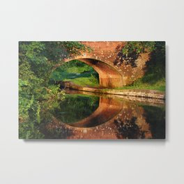 Sunlight Bridge Metal Print
