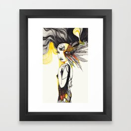 Feather Dream Framed Art Print