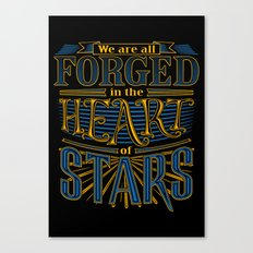 Forged in the Heart of Stars Canvas Print