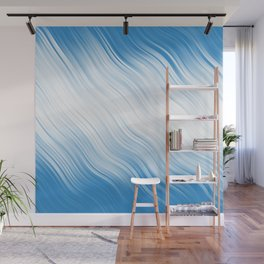 Stripes Wave Pattern 10 wb Wall Mural