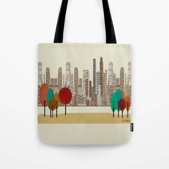 los angeles city Tote Bag