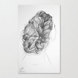 Hair two Canvas Print