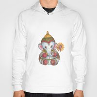 ganesh Hoodies featuring Ganesh by coconuttowers
