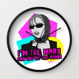 I'm The Mary! Wall Clock
