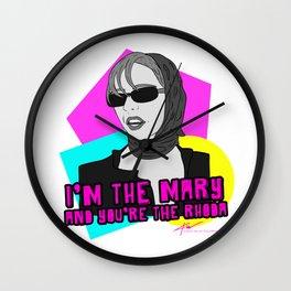 I'm The Mary! Wall Clock