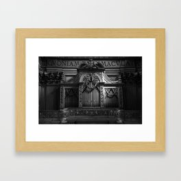 Church Organ Framed Art Print