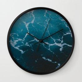 SEA MARBLE TEXTURE Wall Clock