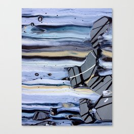 Gather Your Shoes - Close-up #1 Canvas Print