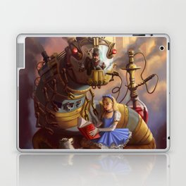 Sandra's Steampunk Alice in Wonderland Laptop & iPad Skin