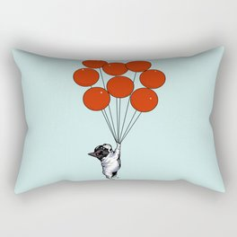 I Believe I Can Fly French Bulldog Rectangular Pillow