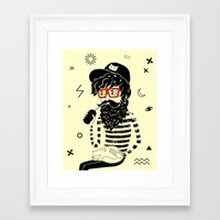 dreamer Framed Art Prints featuring Dreamer by Anya Volk