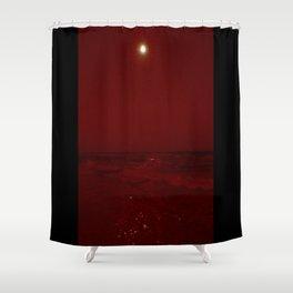 Bloody Beach Shower Curtain