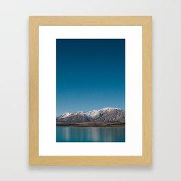 Lake Tekapo II Framed Art Print