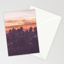 California, Los Angeles, beach, seaside, ocean, surf, downtown, Cali, SoCal Stationery Cards