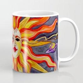 Celestial Comedy and Tragedy Coffee Mug