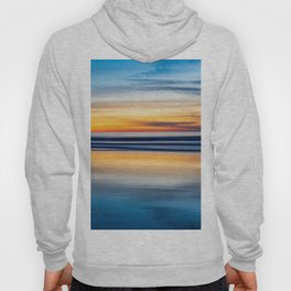 Cloudy Abstract Seascape Reflection Hoody