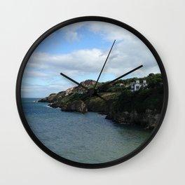 The Coast of Howth, Ireland Wall Clock