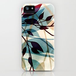 Flood of Leafs iPhone Case