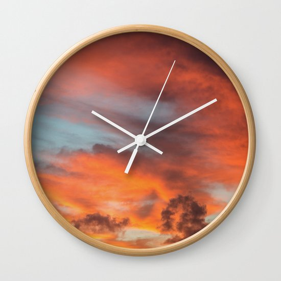 SIMPLY SKY Wall Clock