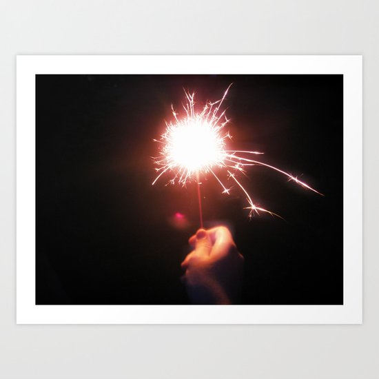 Sparkle On Art Print