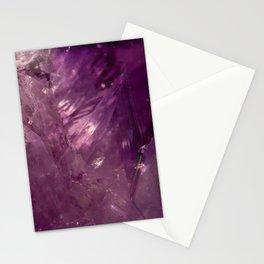 Amethyst Crystal Stationery Cards