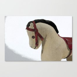 The Old Toy Horse Canvas Print