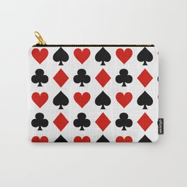 Card Suits Carry-All Pouch