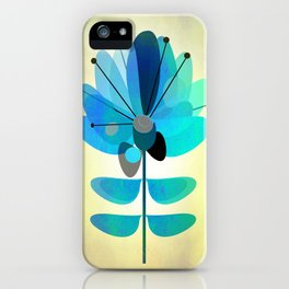 Die Blaue Blume iPhone Case
