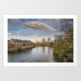 The River Severn Art Print