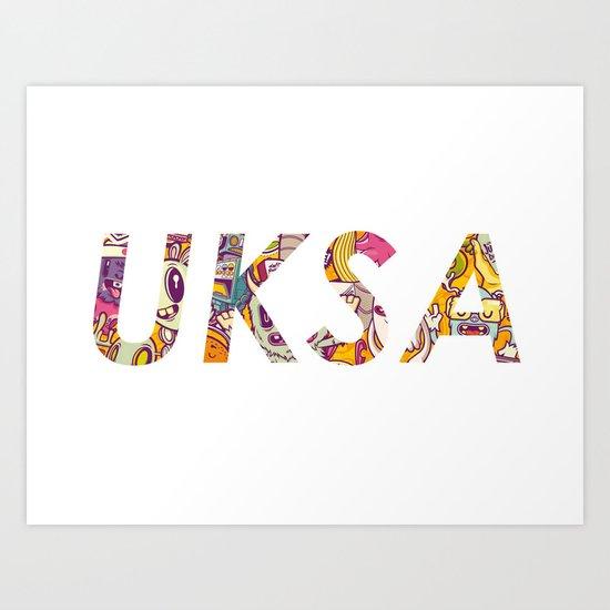 UKSA #3 Art Print
