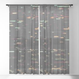 Pixelmania XI Sheer Curtain