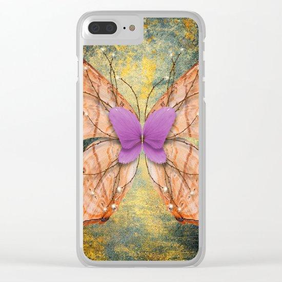 da wings Clear iPhone Case