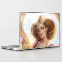 rapunzel Laptop & iPad Skins featuring Rapunzel by ChrySsV
